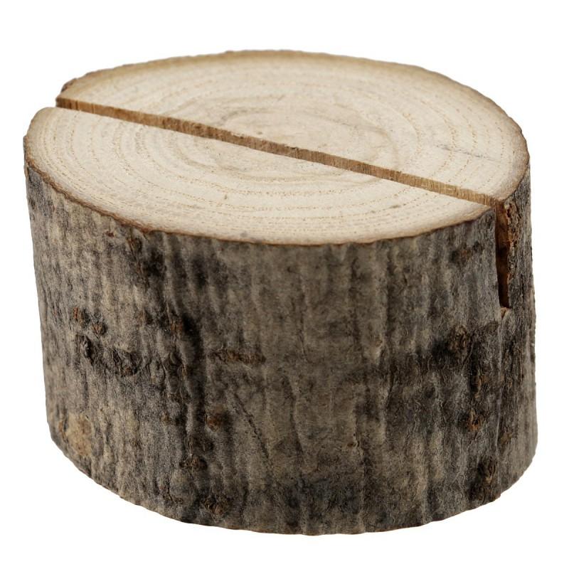marque place rondin de bois 3 5 x 2 5 cm en sachet de 2 pi ces. Black Bedroom Furniture Sets. Home Design Ideas