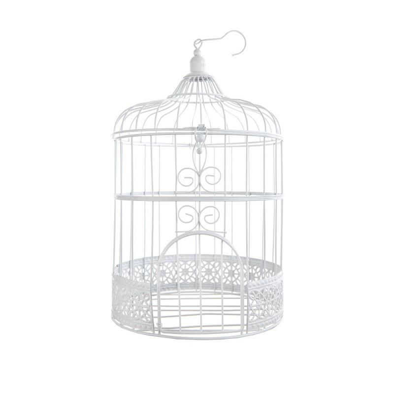 Cage oiseau blanche pour votre d coration vos centres de - Cage oiseau decoration ...
