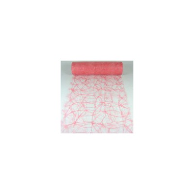 Chemin de table Sizoweb rose pastel
