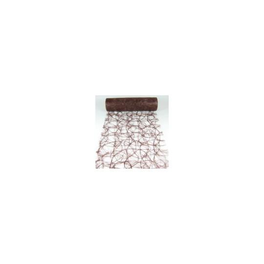 Chemin de table Sizoweb chocolat