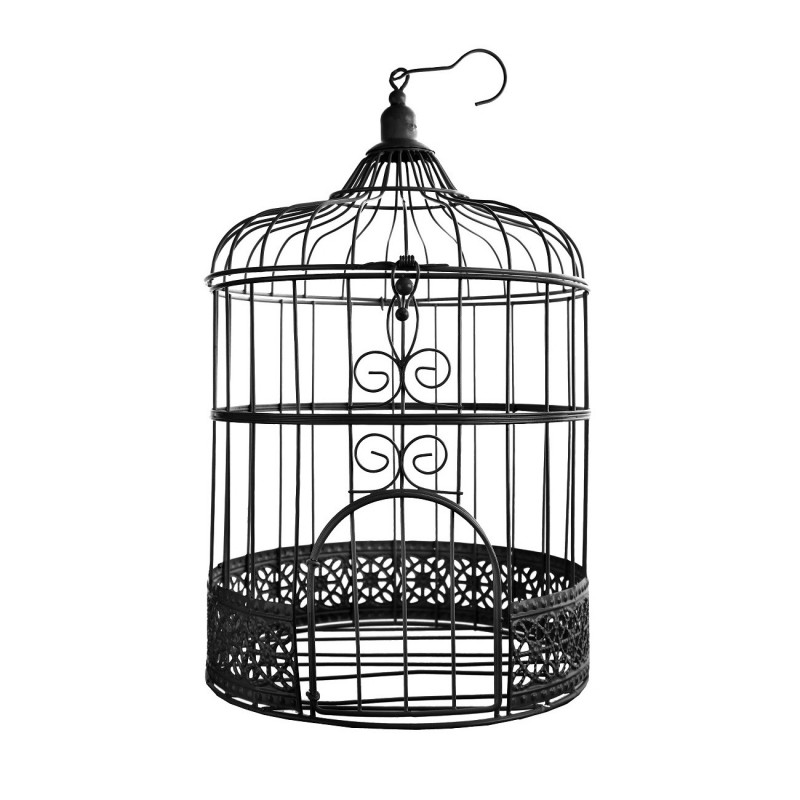 cage oiseau blanche pour votre d coration vos centres de table. Black Bedroom Furniture Sets. Home Design Ideas