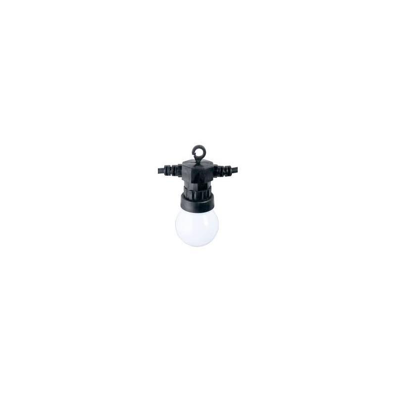 Guirlande guinguette blanche ou ampoules pour 3 m tres - Guirlande guinguette blanche ...