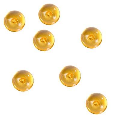 Perles de pluie orange