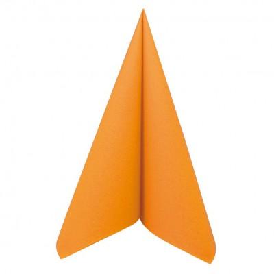 Serviette mandarine jetable