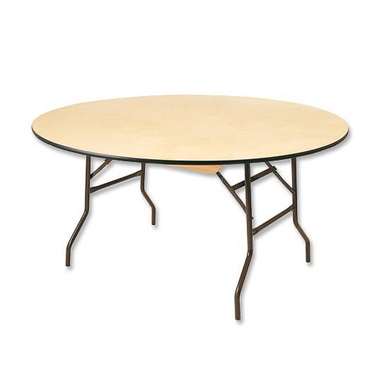 Table Ronde 10 Personnes : table ronde 10 personnes elle est en bois et ses pieds se replient ~ Teatrodelosmanantiales.com Idées de Décoration