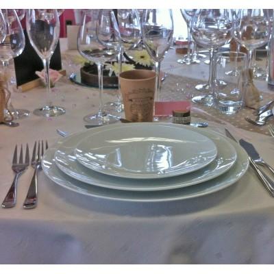 Assiette coupe plate design 31cm, 28cm et 21cm.