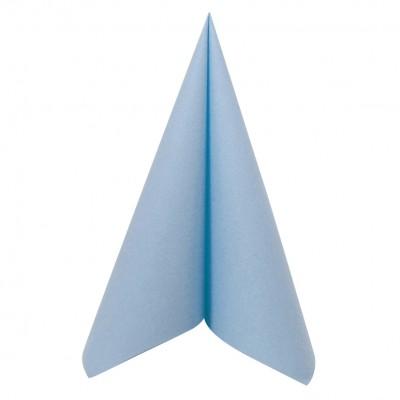 serviette bleu ciel