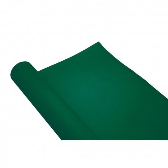 chemin de table uni vert sapin