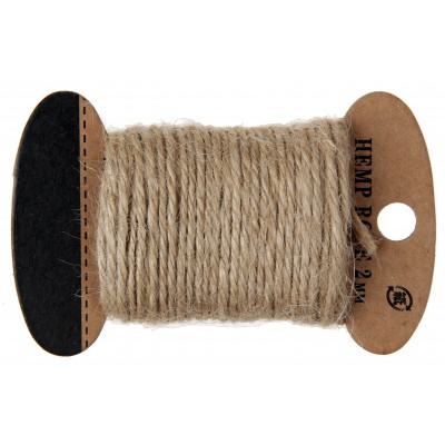 Corde coton naturel 10 m
