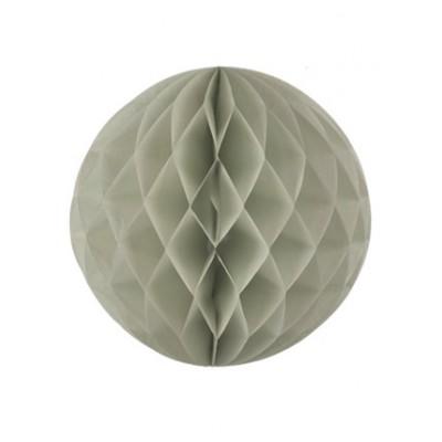 Boule japonaise alvéolée grise