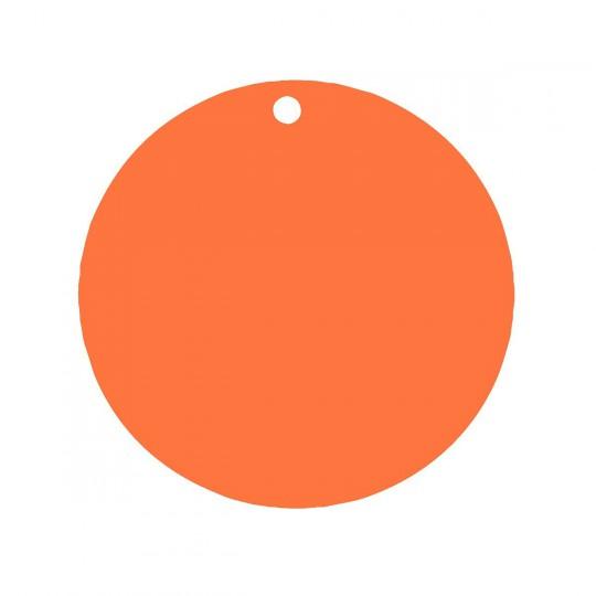 Marque place rond orange.