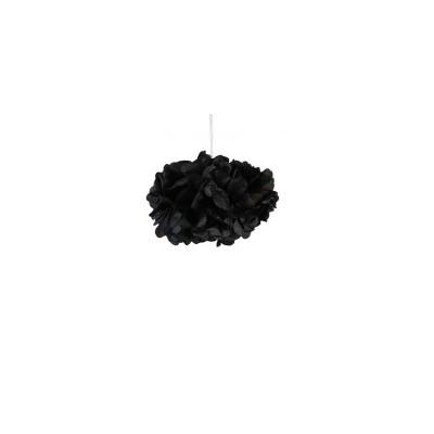 Pompons noir 30cm x 2