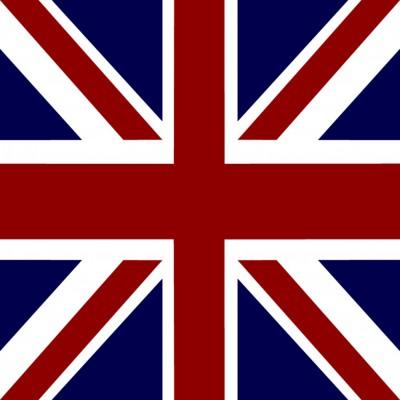 Serviette cocktail Paviot drapeau Angleterre