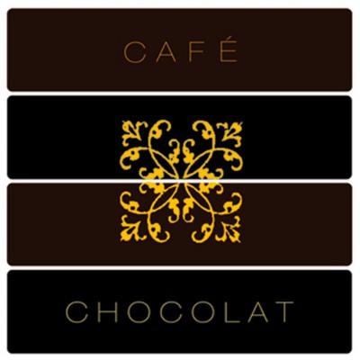 Serviette cocktail Paviot impression café, chocolat