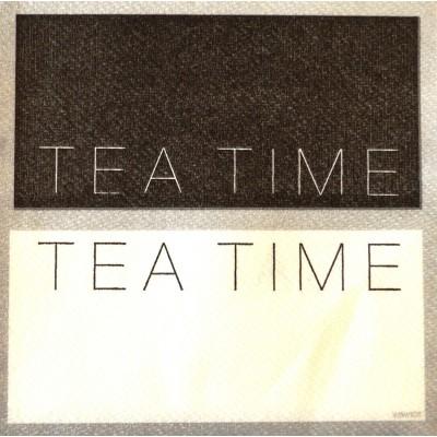 Serviette cocktail Paviot impression tea time