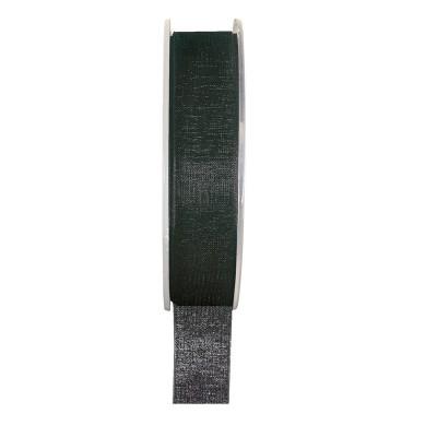 Ruban organza noir 20 mètres x 6mm