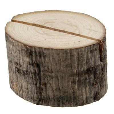 Marque-place rondin de bois 3.5 x 2.5 cm