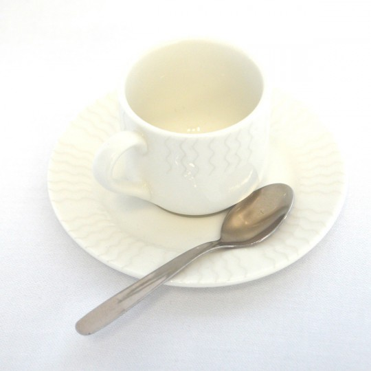 Tasse à café ondine.