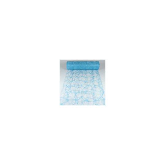 Chemin de table Sizoweb turquoise