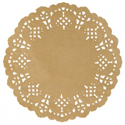 Set de table napperon dentelle Kraft Ø 34cm
