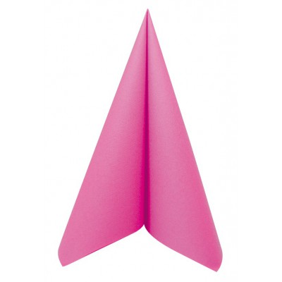 Serviette fushia jetable