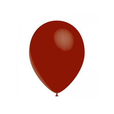 Ballon bordeaux 28 cm sachet de 12