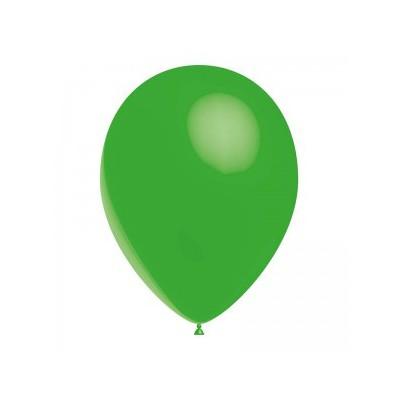 Ballon vert printemps 28 cm sachet de 12