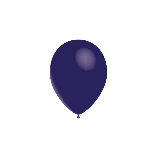 Ballon bleu marine 28 cm sachet de 12