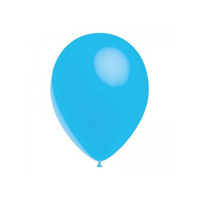 Ballon bleu ciel 28 cm sachet de 12
