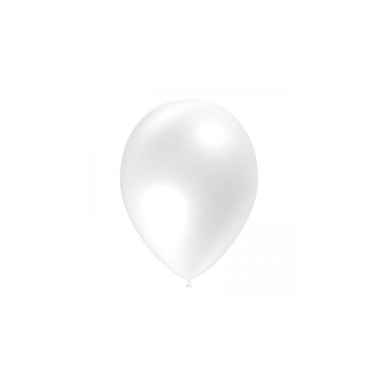 Ballon blanc 28 cm sachet de 12