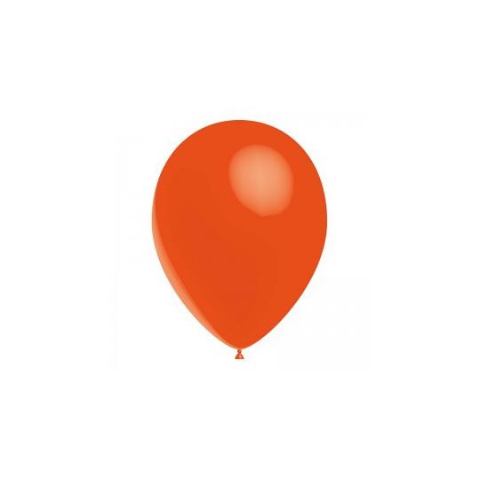 Ballon orange 28 cm sachet de 12