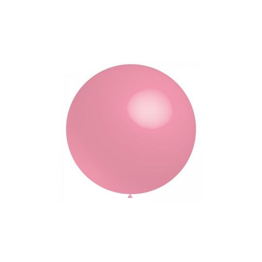 Ballon rose 60 cm vendu à l'unité