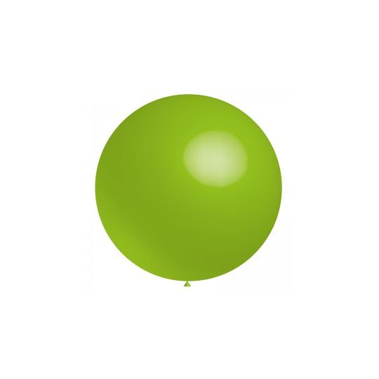 Ballon vert lime 40 cm ou 60 cm vendu à l'unité