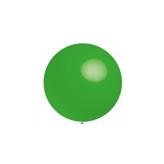 Ballon vert printemps 40 cm ou 60 cm vendu à l'unité