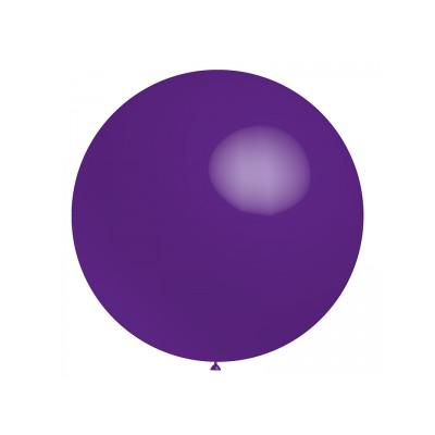Ballon violet 40 cm ou 60 cm vendu à l'unité
