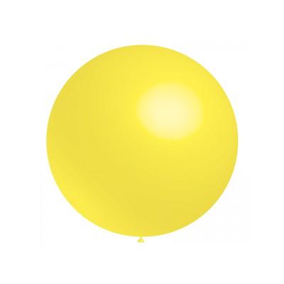 Ballon jaune 40 cm ou 60 cm vendu à l'unité