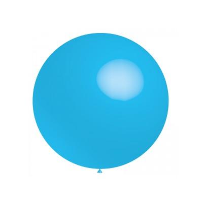 Ballon bleu ciel 40 cm ou 60 cm vendu à l'unité