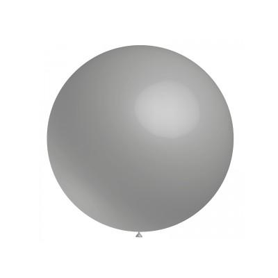 Ballon gris 60 cm vendu à l'unité