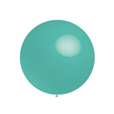 Ballon bleu turquoise 60 cm vendu à l'unité