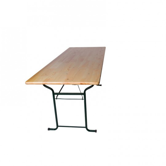 Table rectangle 8 personnes.