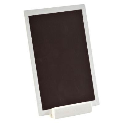 Ardoise bordure blanche 10x15cm