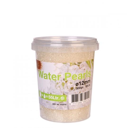 Perles d'eau ou billes de gel déshydraté