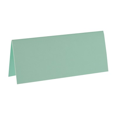 Marque place mint rectangle, en carton.