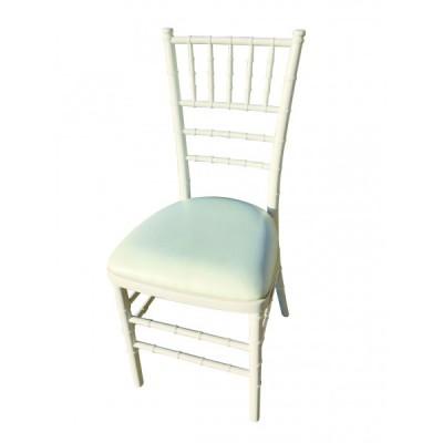 Chaise blanche CHIAVARI.