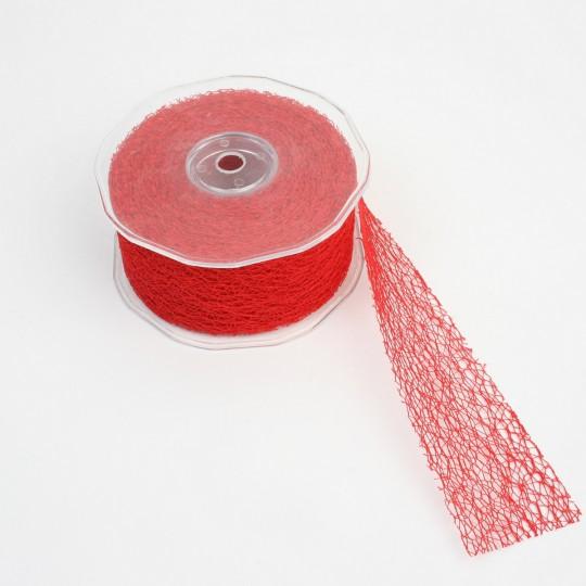 Ruban paradise rouge 50 mm