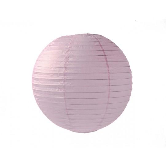 Boule japonaise couleur rose tendre Ø 35 cm.