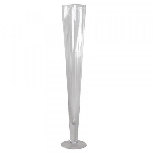 Vase flûte prima cielo 60cm.