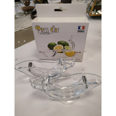 Presse citron individuel de table x 2