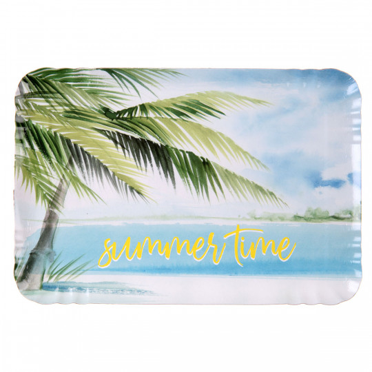 Plateau carton rigide Summer Time