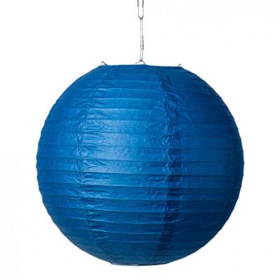 Boule japonaise bleue marine Ø 35 cm.